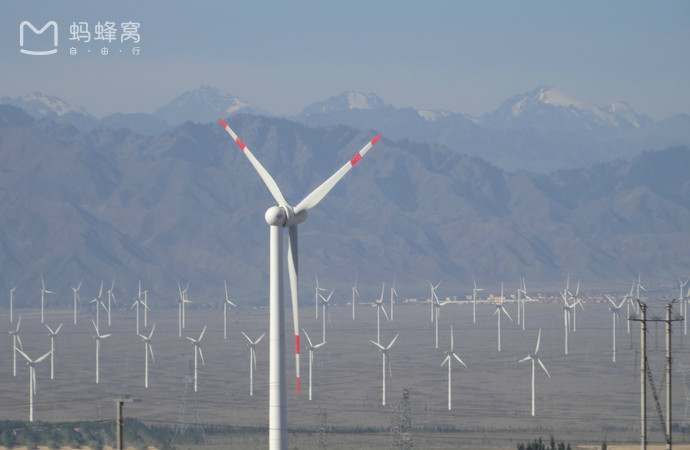dabancheng wind power station by aci
